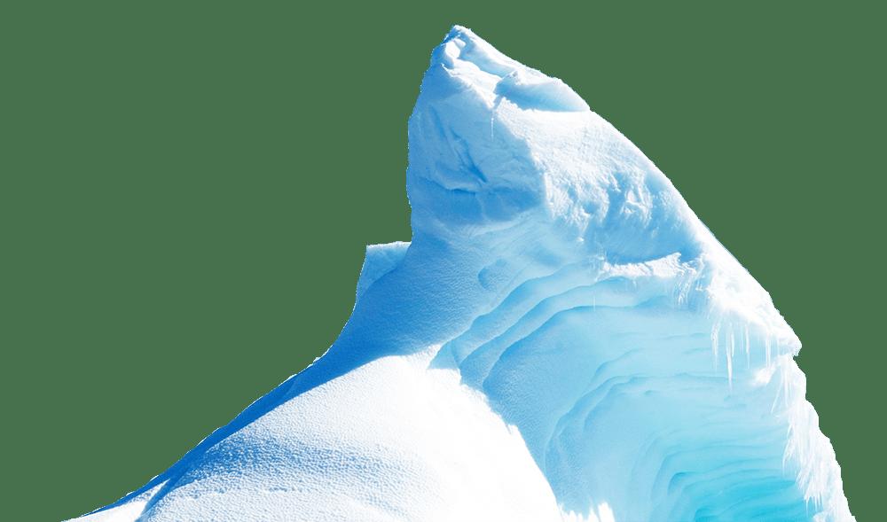 free Polar clipart glacier. Tip of the iceberg