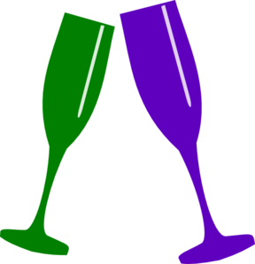 clip royalty free download Champagne Glass Clip Art at Clker