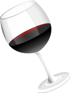 clipart transparent stock Glass clip. Red wine art at