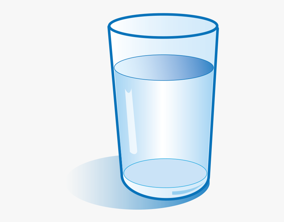jpg free stock Glass clipart. Graphic library water