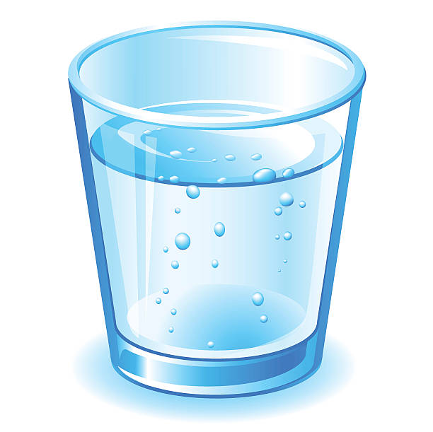 svg transparent library Glass clipart. Water in a station