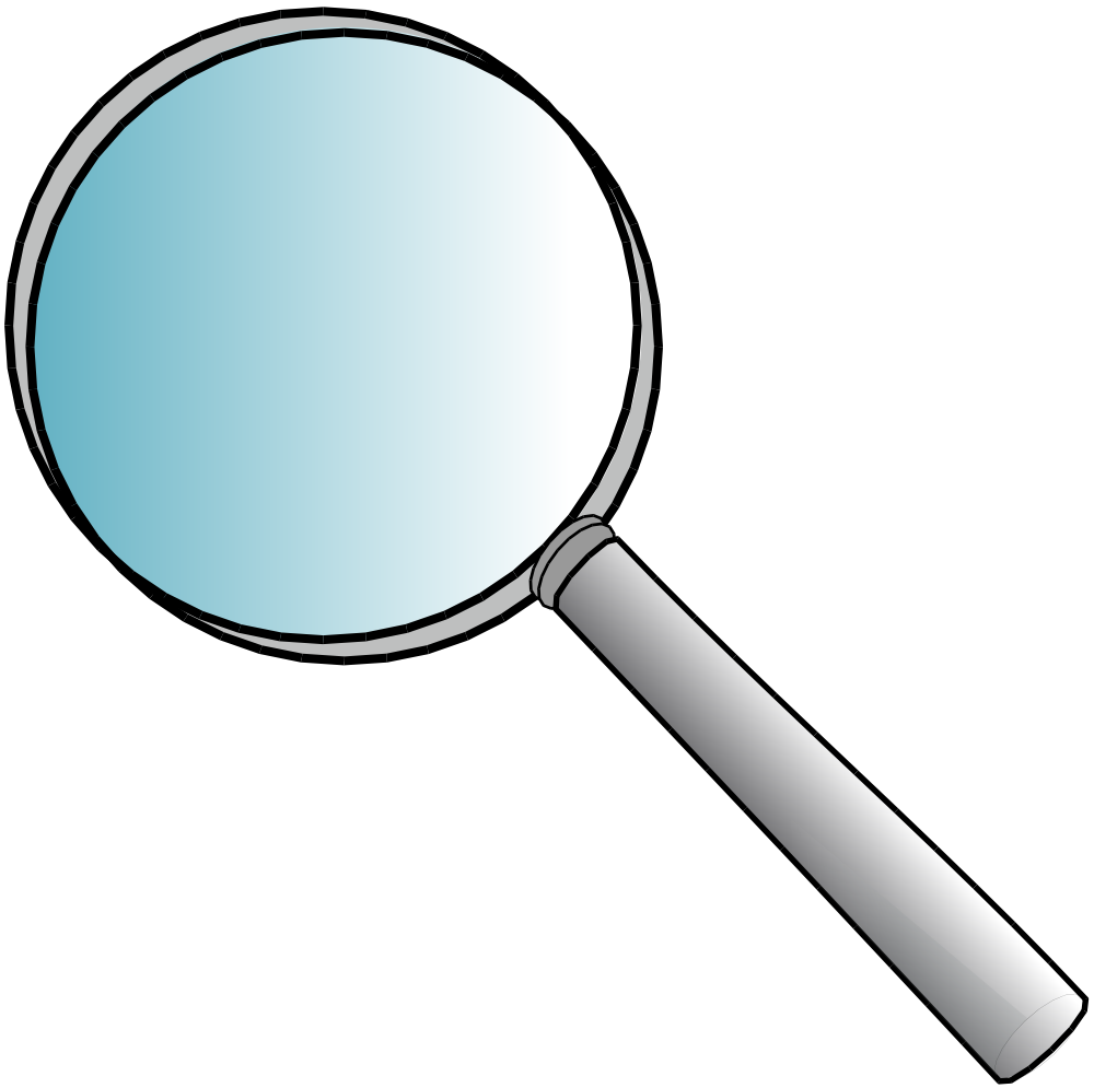 clipart royalty free download Magnifying glass clipart black and white. Image for kids magnifyingglassclipartforkidsmagnifyingglassclipartanonymous