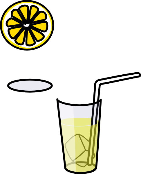jpg free download Glass of clip art. Lemonade clipart black and white
