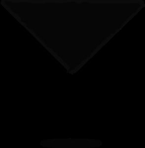 royalty free stock Margarita clipart vector. Glass silhouette clip art.