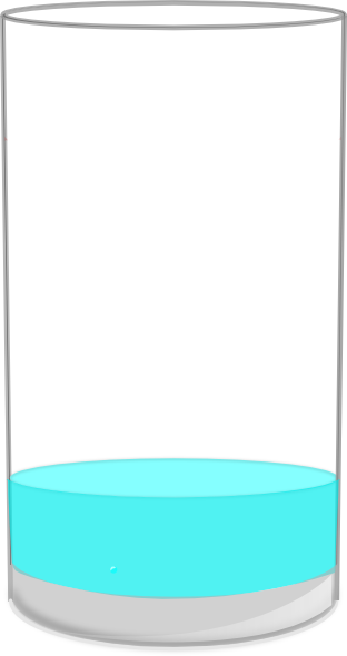 png free Glass of water clipart black and white. Empty clip art images