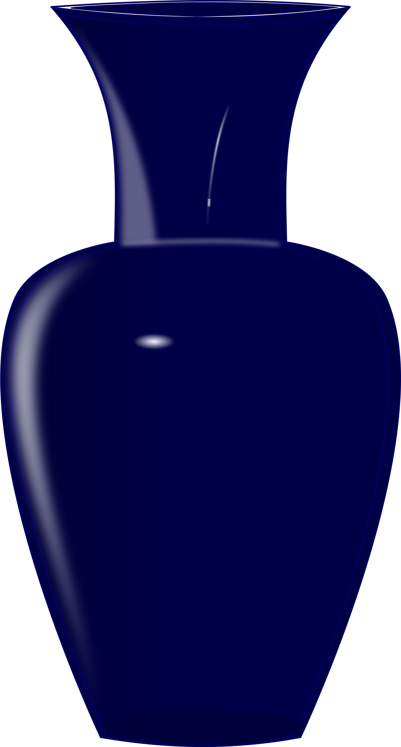 image library Blue big image png. Glass vase clipart