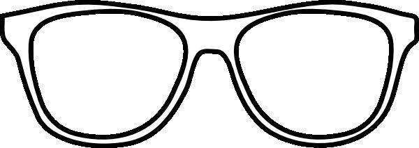clipart White . Glasses clipart