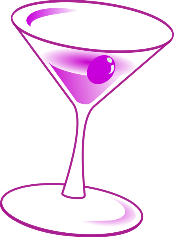 image royalty free library Martini glass wine glasses clip art