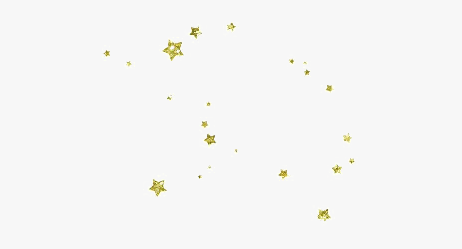 stock Yellow stars png transparent. Glitter clipart.