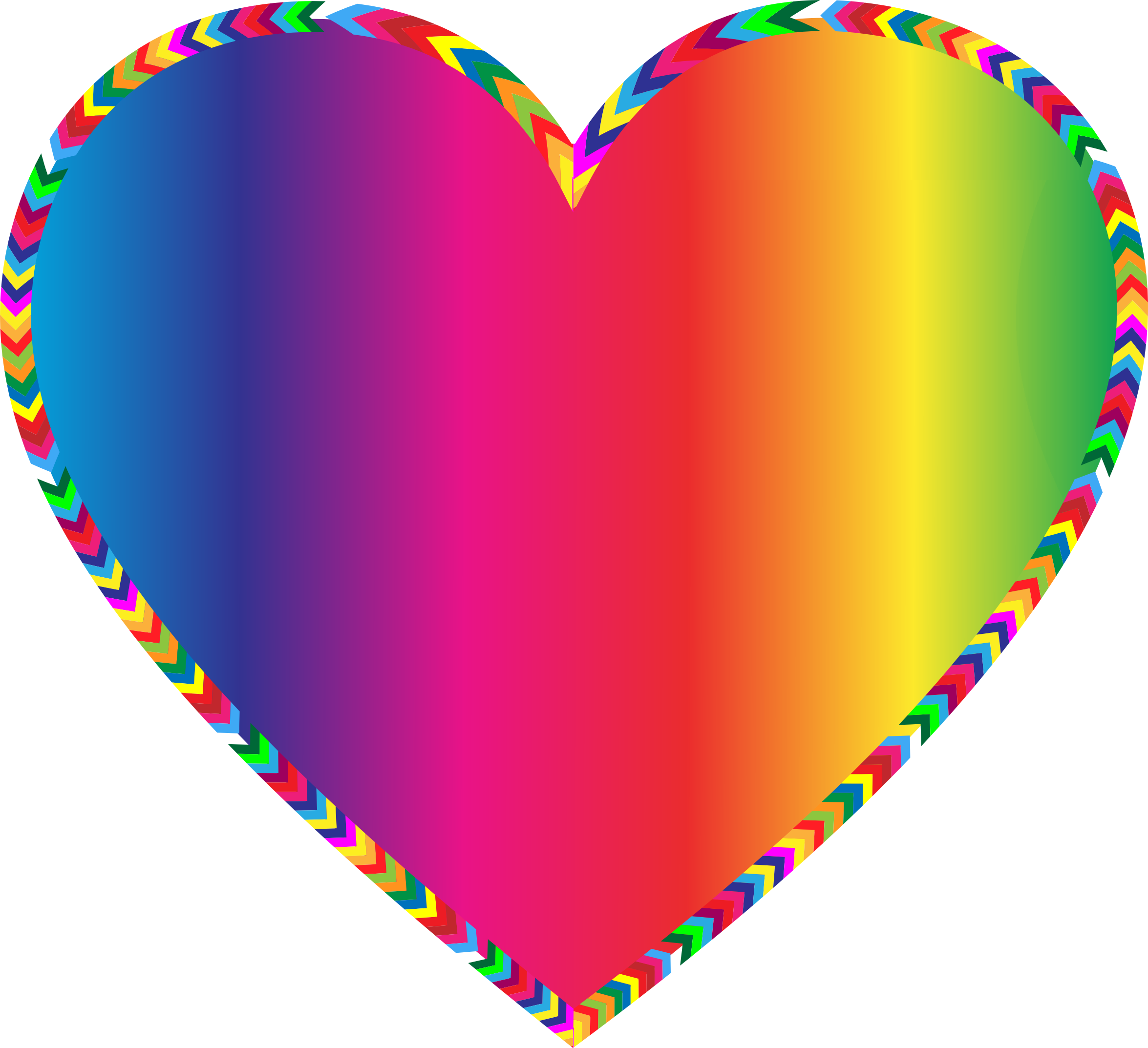 picture library stock Multicolored Arrows Heart Filled by GDJ