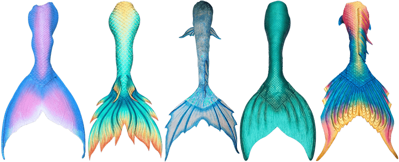 clip art stock Best Realistic Mermaid Tails