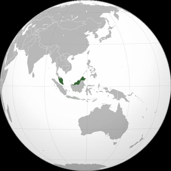 clip royalty free library global vector globe malaysia #97122088