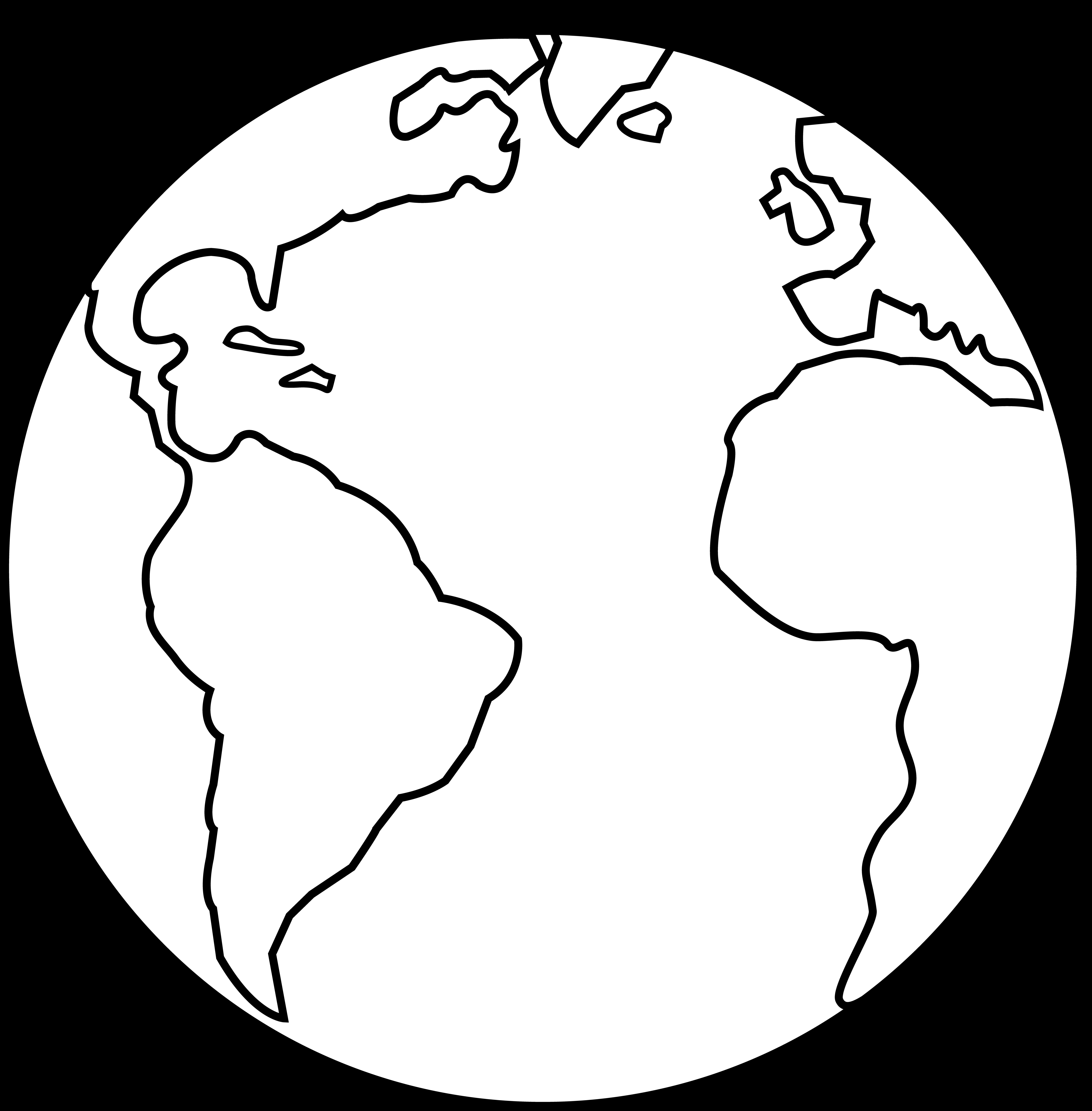 free Simple Globe Drawing at GetDrawings