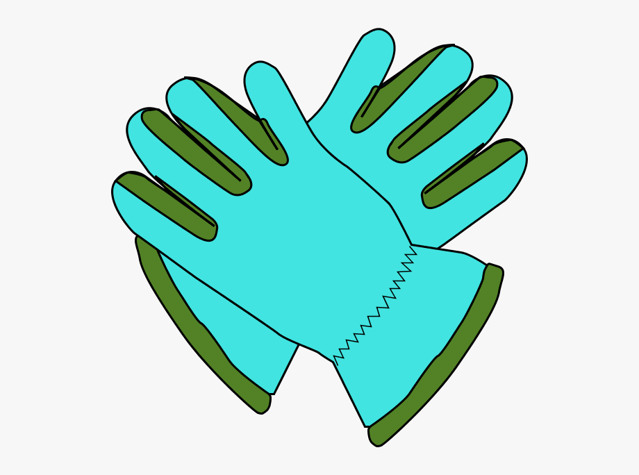 clip art freeuse stock Glove clipart. Gloves gardening