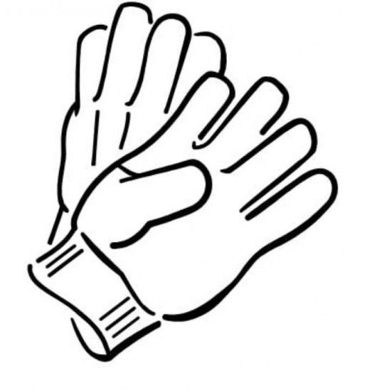 image royalty free library Glove clipart. Free gloves cliparts download