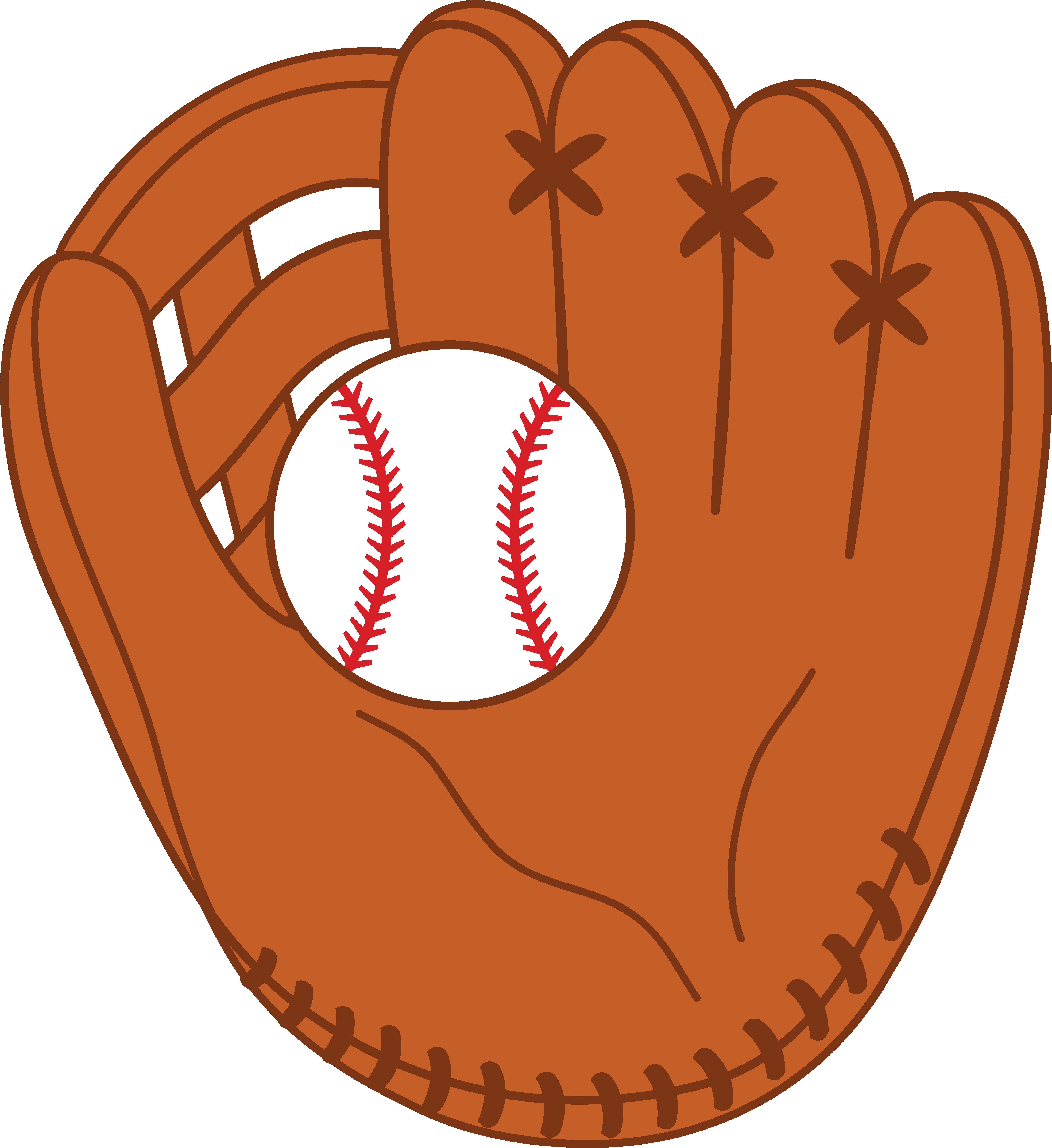 clipart royalty free download Baseball Glove Clipart