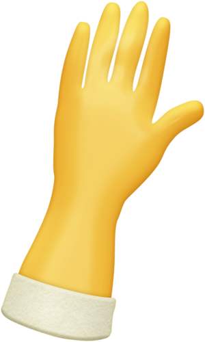 picture freeuse stock Glove clipart article clothing. A perfect mess time