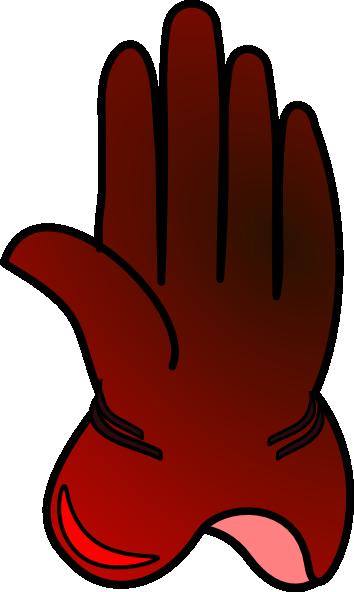 picture transparent Clip art at clker. Gloves clipart snow glove