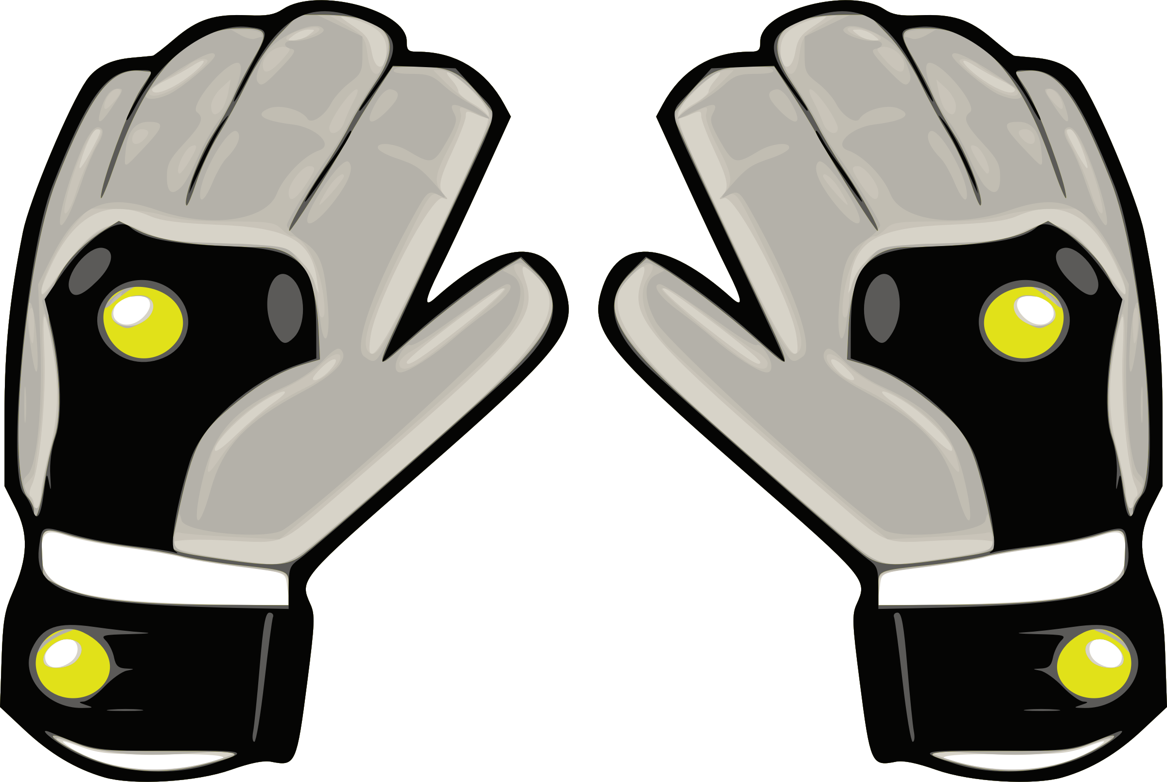 graphic library Gloves clipart soccer glove. Icons png free and