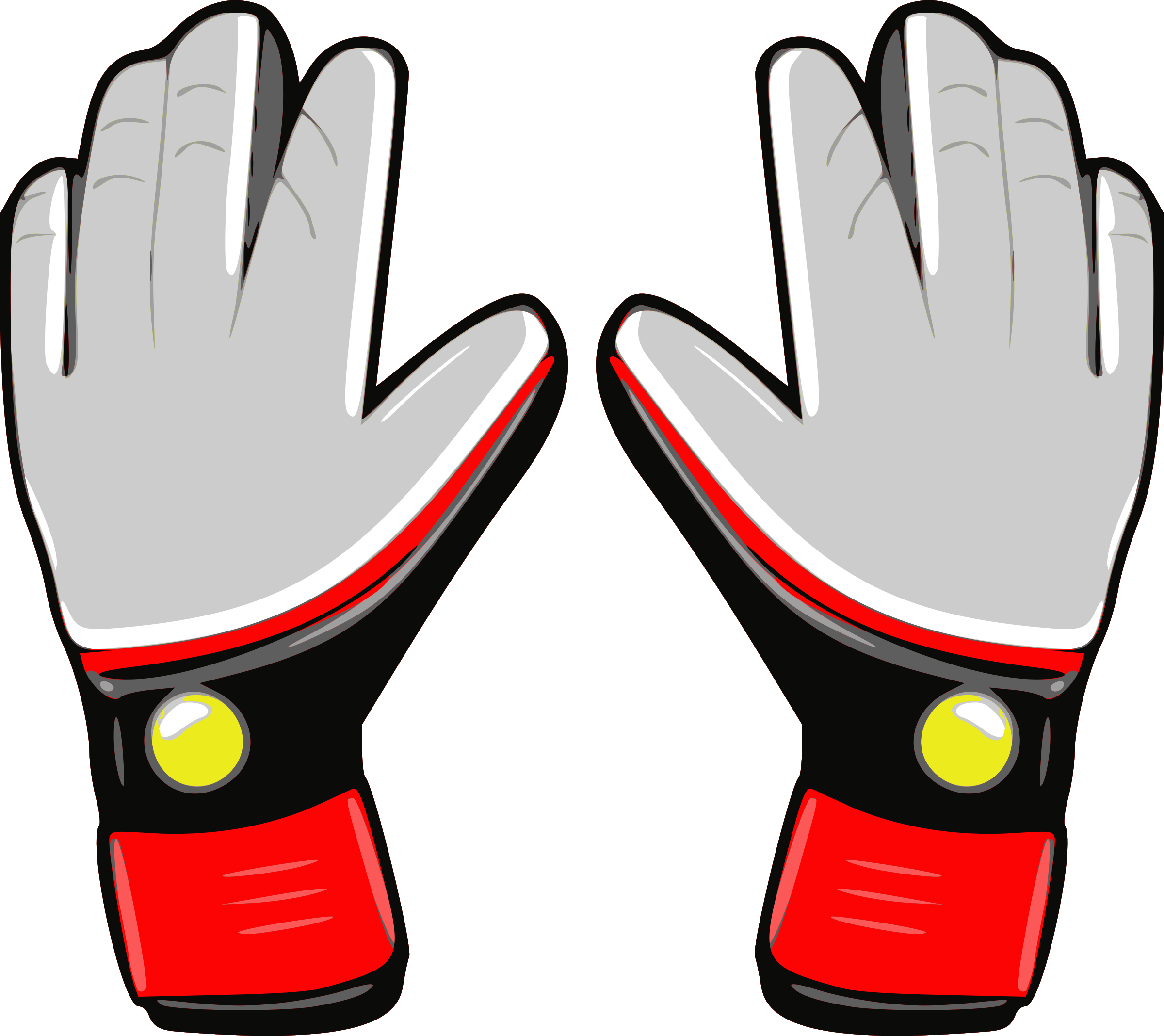 image royalty free download Gloves clipart snow glove. Goalkeeper free on dumielauxepices.