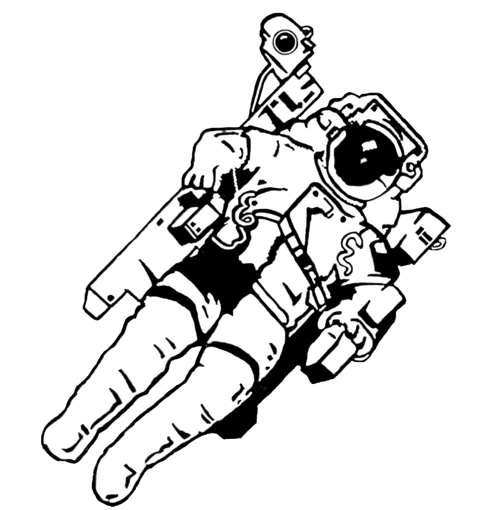 png transparent download Astronaut