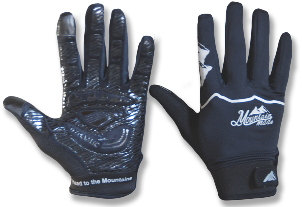 graphic royalty free library Mountain Made Belford Half Finger Cycling Gloves