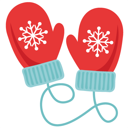 clipart royalty free library Christmas gloves freebie of. Snow clipart mitten.