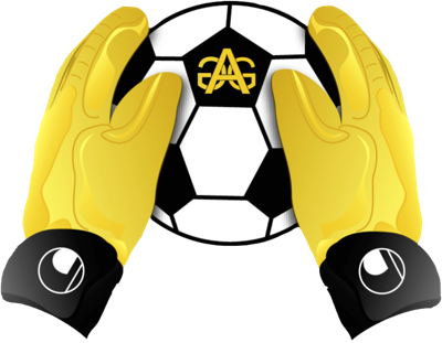 clip black and white Gloves clipart soccer glove. Golden academy