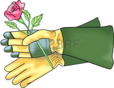 banner free gloves vector gardening glove #136116274