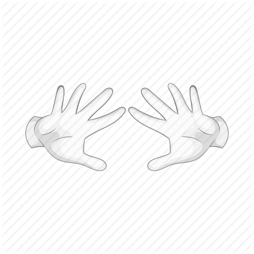 clip art black and white download gloves vector magician #97144429