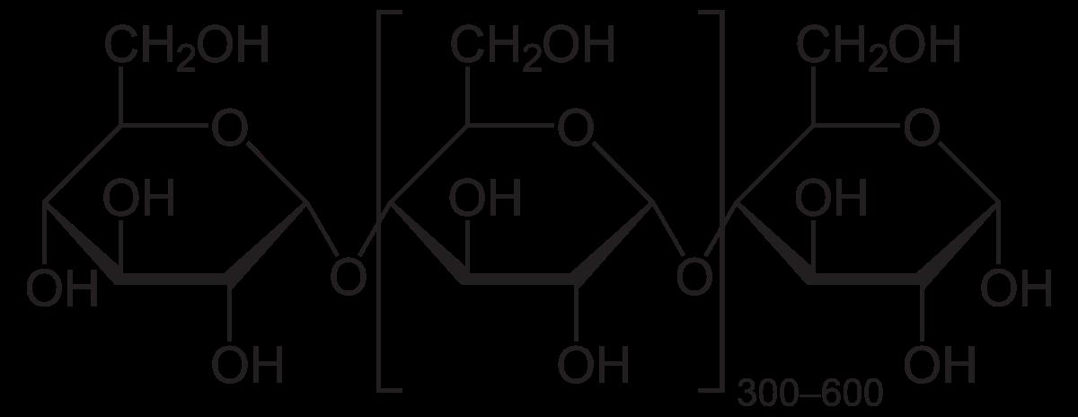 image black and white Amylose