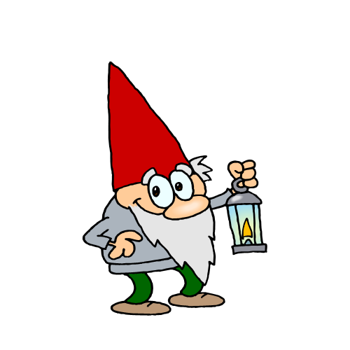 vector library Gnome clipart. Free download clip art