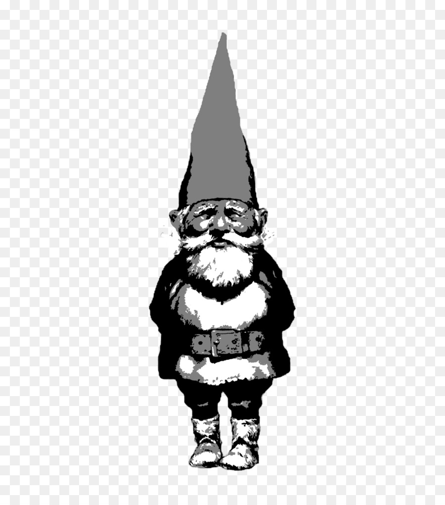 clip freeuse download Gnome clipart black and white. Book tree