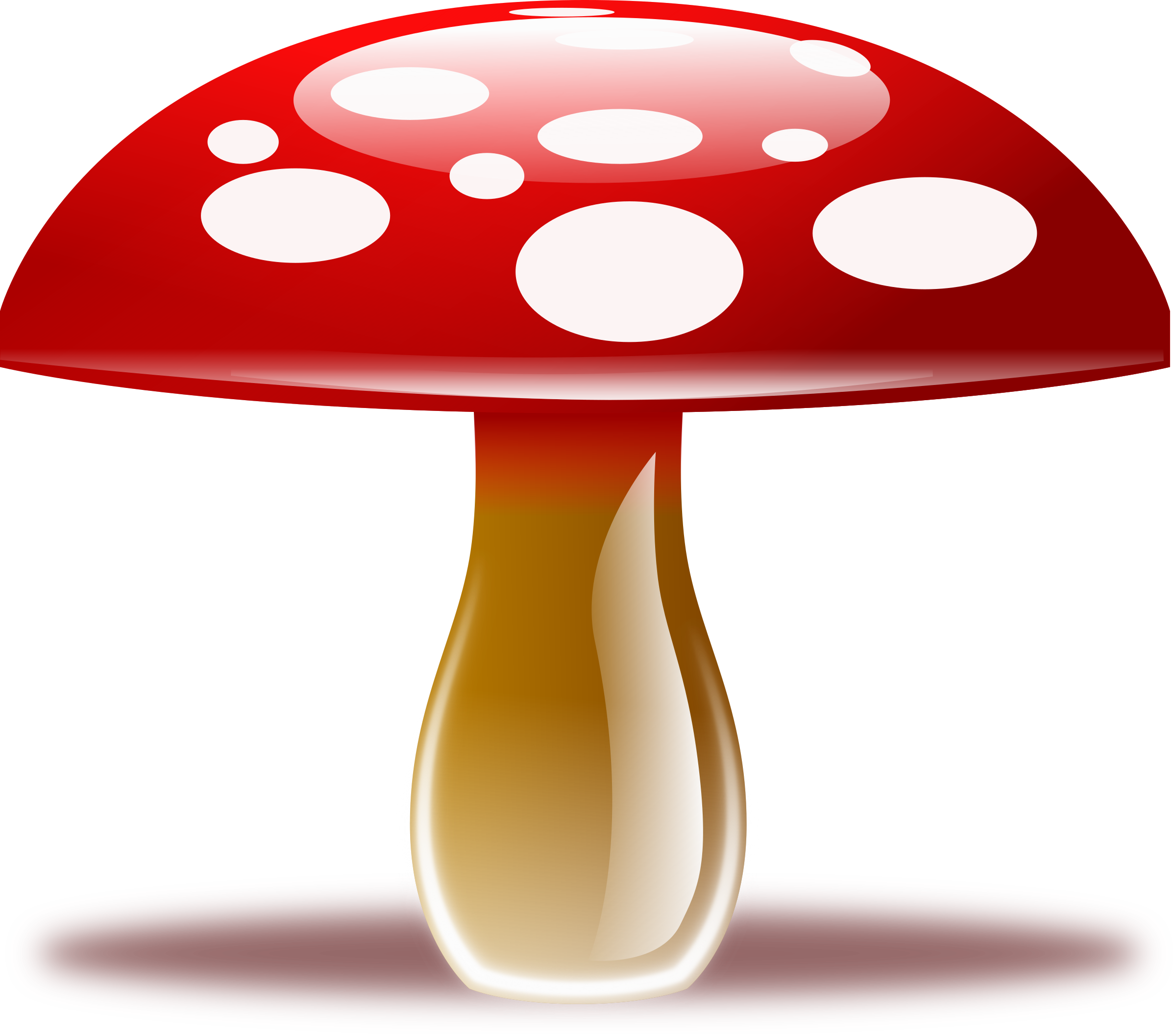 jpg library Mushrooms clipart logo. Gnome colorful mushroom free
