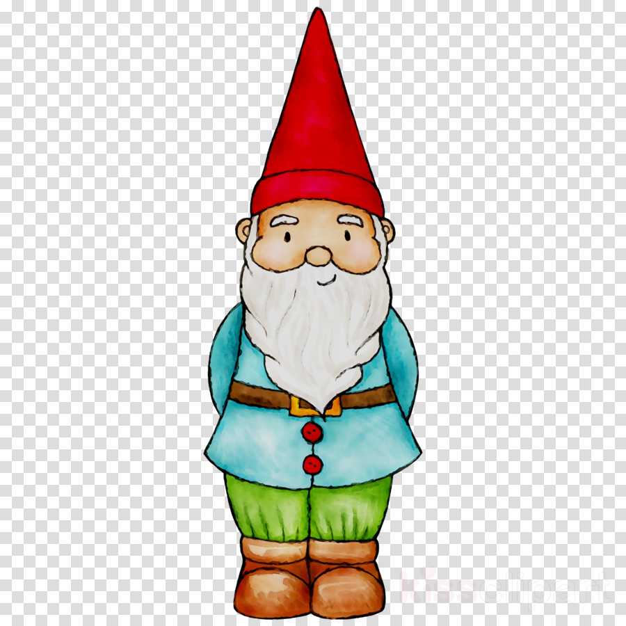 clipart black and white stock Santa claus drawing illustration. Gnome clipart enchanted.