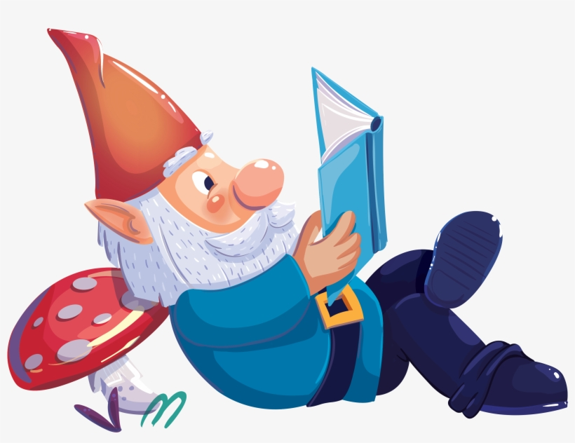 clipart freeuse Gnome clipart enchanted. Forest book fair x.