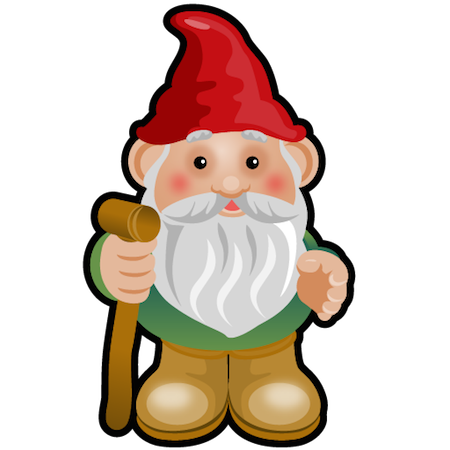 image library library Gnome clipart enchanted. Fall house making thursday