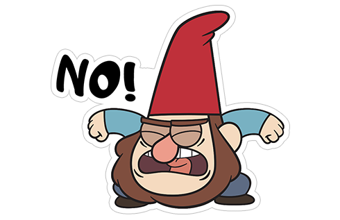 clipart free Gnomes from viber sticker. Gnome clipart gravity falls