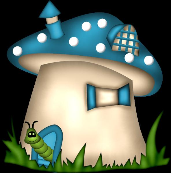 jpg freeuse download Gnome clipart hippie. Mushroom house fantasy gnomes