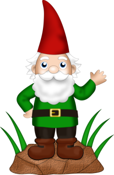 graphic library stock  png gnomes and. Gnome clipart hobbit