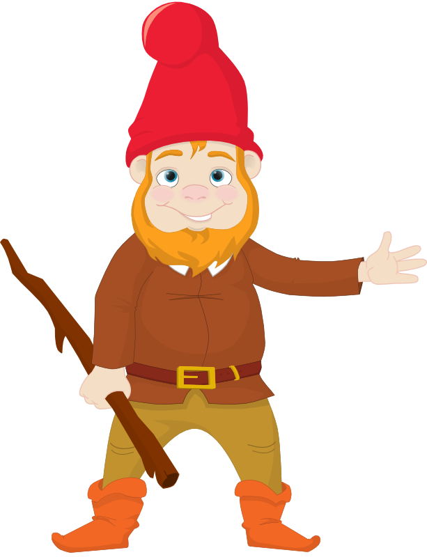image library Gnome clipart line. Art free on dumielauxepices