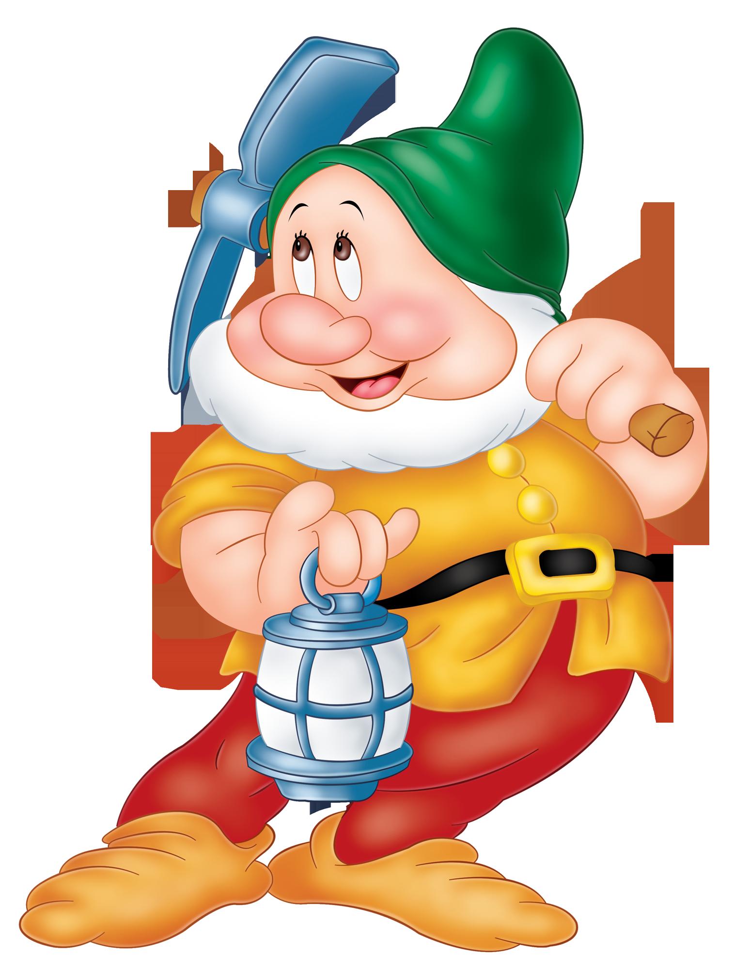 library Gnome clipart seven dwarves. Sneezy snow white dwarf