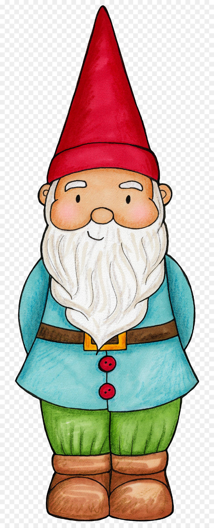 png download Gnome clipart simple garden. Sketch at paintingvalley com