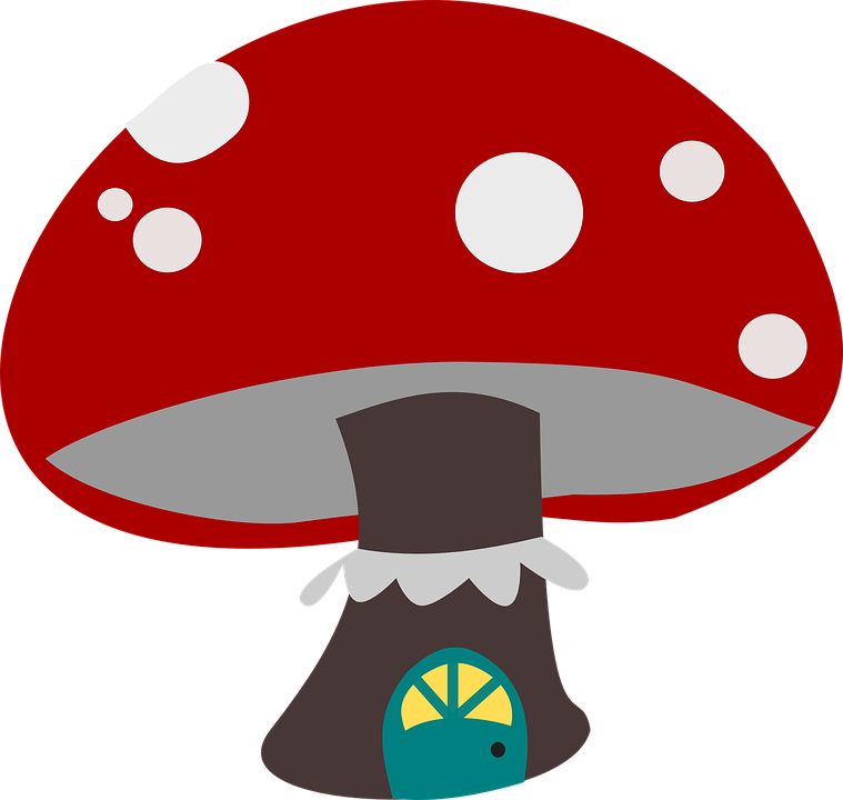 image royalty free stock Gnome clipart woodland mushroom. Wild free on dumielauxepices
