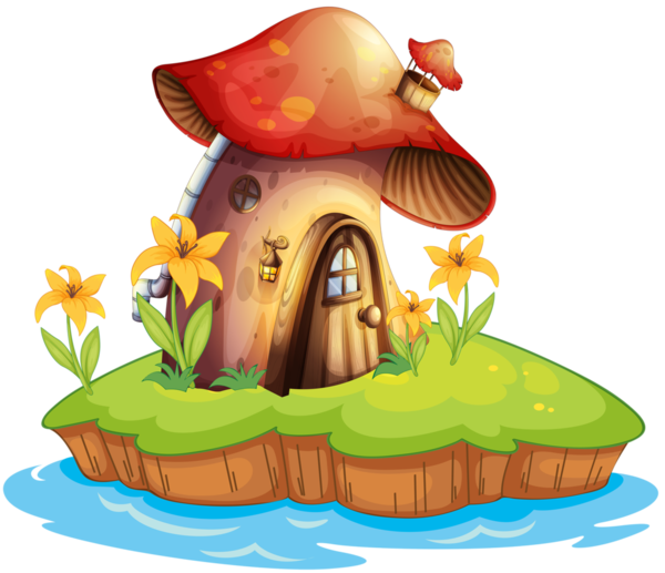 png library library Champignons png tubes kvety. Gnome clipart woodland mushroom