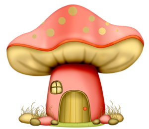 vector stock Ccd mushroomhouse png pinterest. Gnome clipart woodland mushroom