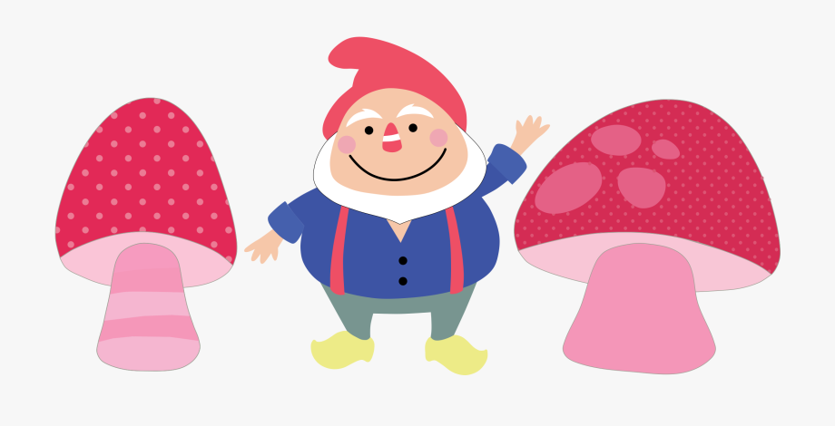 free download Gnome clipart woodland mushroom. Garden