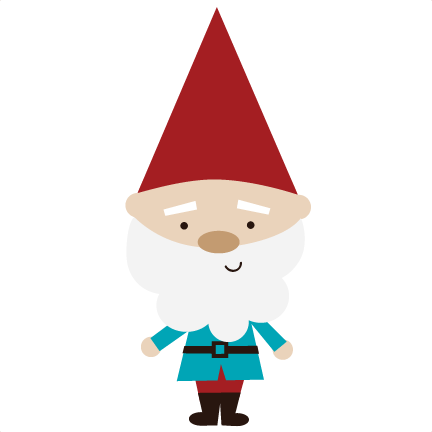 vector black and white stock Gnome clipart. Knome free on dumielauxepices.