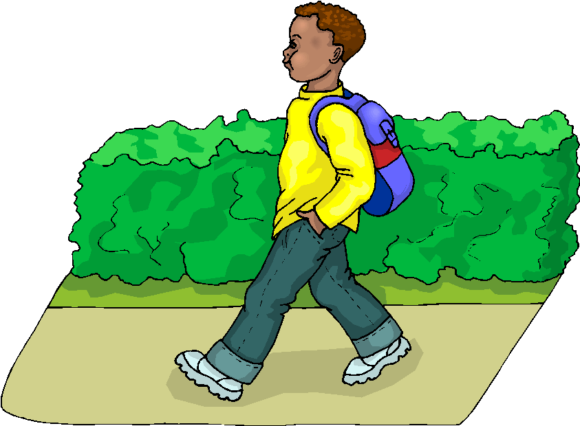 png stock Go clipart. Boy to school free.
