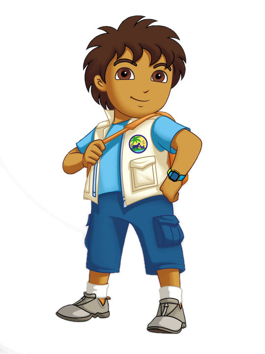 clipart royalty free download Go clipart diego. Character gallery dora the